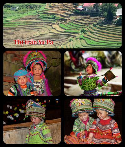 ベトナム北部の少数民族を訪ねての旅(後編) サパ。