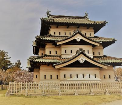 今年の弘前城は・・・