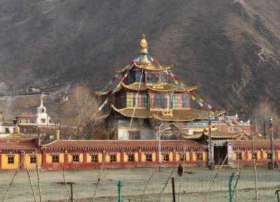 東チベット ゴロク・アバの旅(7)~チクディル1 タルタン・ゴンパ(白玉達唐寺)~