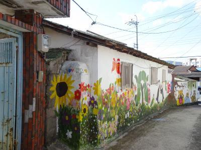 巨済面の壁画村