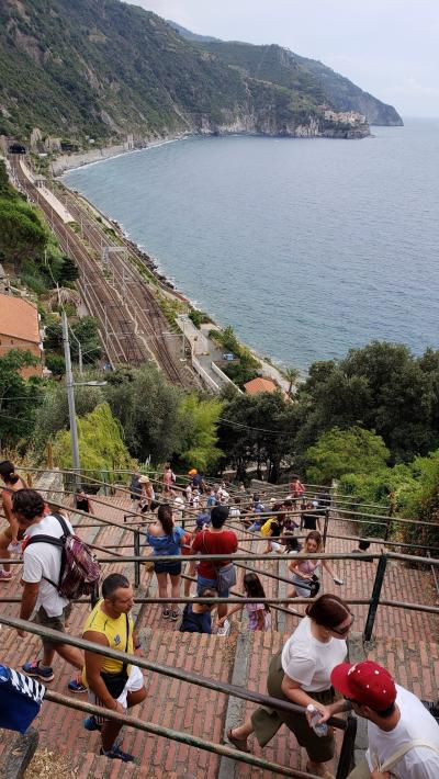 イタリア旅行2018夏 3日目(Monterosso・Corniglia・Riomaggiore)