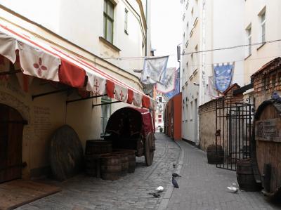 2018GWバルト3国 その7~ラトビア・リガの旧市街