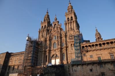 スペイン旅行ー7:サンチャゴ(絵になる街)