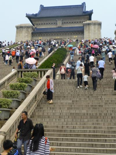 三国志と城壁の旅:二日目(南京一日目)「中山陵は立派です」