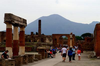 イタリアの旅 11 (ナポリ、ポンペイ バスツアーその2)