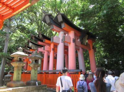 新緑の京都を訪ねて その1 伏見稲荷大社・御香宮神社など