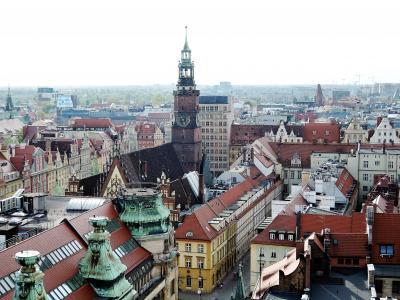 菜の花畑と新緑に輝くポーランドの世界遺産を巡る8日間【5】3日目:ヴロツワフ(2)
