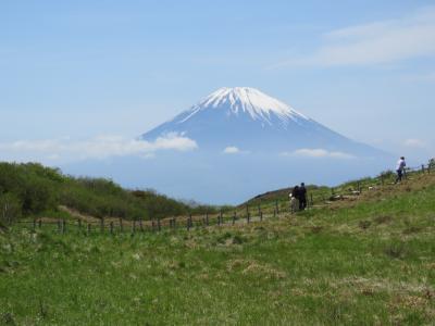 今年も箱根観光の旅を行う⑱駒ケ岳より富士山展望