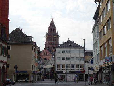 1週間EU2カ国&カーボベルデ旅行*その1*ドイツはマインツ観光