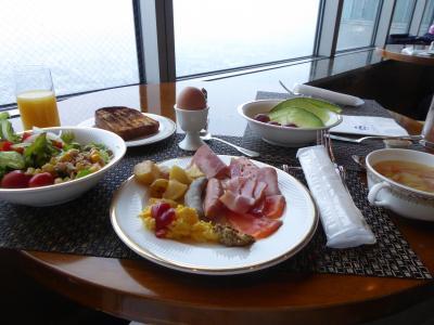 春の優雅な横浜♪ Vol.23 横浜ロイヤルパークホテル クラブ・ザ・ランドマークフロアの朝食♪