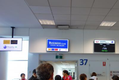 夏のクイーンズタウン最終日:シドニーからJALで帰国、荷物は2日遅れ