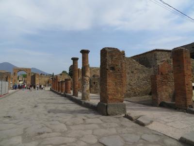2018 GW南イタリア・シチリアの旅その2 ポンペイ遺跡・ナポリ国立考古学博物館