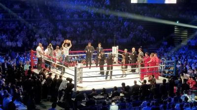 初めてのボクシング観戦 井上尚弥はやはり強かった!