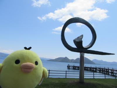 北海道 栗山町と洞爺湖 をたびするトリ