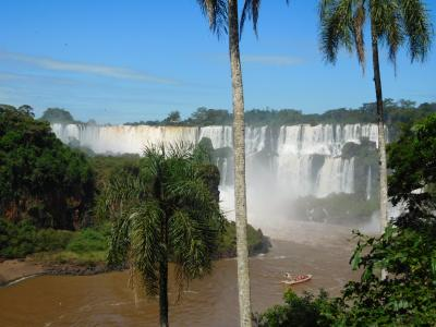 南米2018旅行記 【12】イグアスの滝(アルゼンチン)2(ロワー・トレイル1)