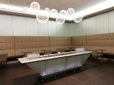 ロンドンヒースロー空港ターミナル5 LHR T5 ブリティッシュエアウェイズ BA First Lounge訪問記