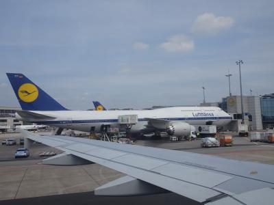 1週間EU2カ国&カーボベルデ旅行*その5*フランクフルトトランジット