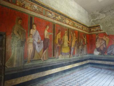 2018年GW アラ還夫婦の個人旅行ナポリ編 ポンペイ遺跡
