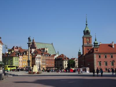 世界遺産「ワルシャワ歴史地区」