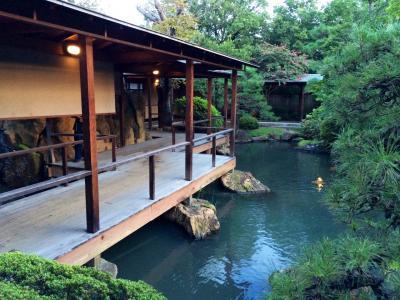 皇室御用達 湯村温泉常盤ホテルとビアガーデン