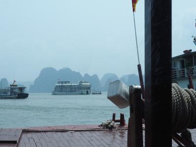 2018年3月、ベトナム、ハノイ旅行(15.ハロン湾クルーズ)
