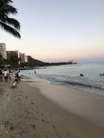 2018年5月 ハネムーンのハワイ旅行(終)