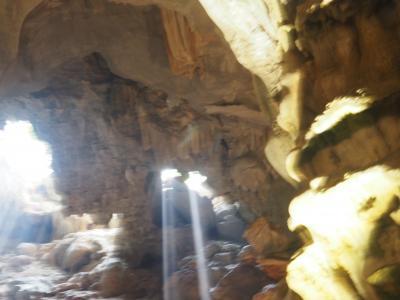2018年3月、ベトナム、ハノイ旅行(16.ハロン湾洞窟探検)