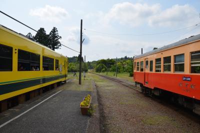 房総横断の鉄道旅 -小湊鐵道五井から、いすみ鉄道大原へ-