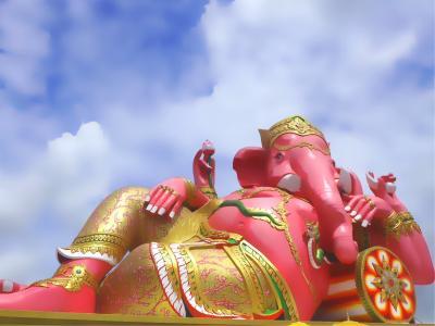 Instagenic Bangkok2*・゜・*高速で願い事を叶えてくれる ピンクのガネーシャ*・゜・*