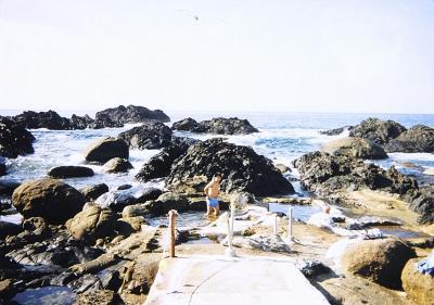 海と一体となる、時間限定の岩間に湧くワイルドすぎる野湯屋久島の平内海中温泉に行ってきました
