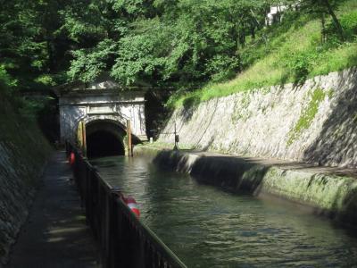 琵琶湖疏水通船の旅 ② (大津:三井寺~京都:蹴上)