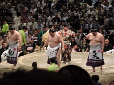 還暦を迎えた東京タワーなど東京再発見の旅2日目と大相撲5月場所