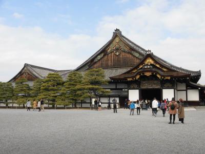 2018年3月京都旅行① 早朝のANA羽田伊丹線搭乗と二条城登城