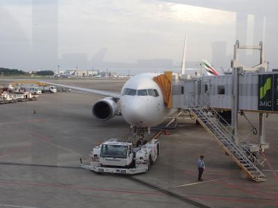 とりあえず、133回目の台湾訪問。成田桃園JL809夜便にて・・・
