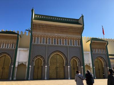 モロッコ・街並みと幻想のサハラ砂漠の旅 12日間  フェズ