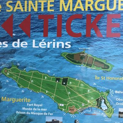 カンヌ沖合に浮かぶ、修道院とワインの島に行ってみた