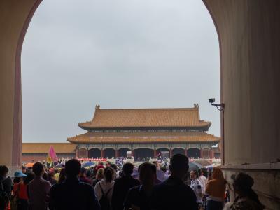 モノの弾み北京2泊3日間