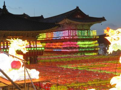 2018 釜山で三光寺の灯ろうまつりを見よう その2 三光寺・松島