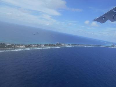 弾丸ツバル1712 「アイランドホッピングでキリバスからフィジー経由ツバルへ。」 ~フナフティ~