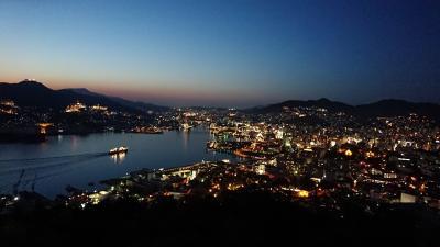 世界遺産登録目前の五島列島&長崎201805(2日目:世界新三大夜景長崎の夜景)