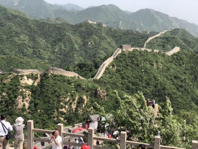 万里の長城に行きたくて。