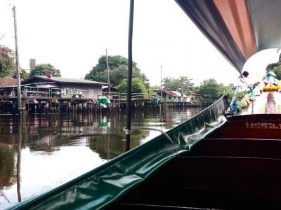 バンコクの静かな休日(3) プラカノーン運河