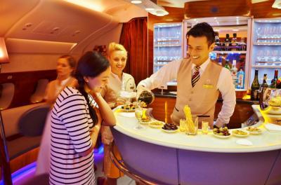 モルディビアンハネムーン Part 11 - エミレーツ航空A380ファーストクラス ドバイ → バンコク