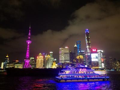 カニで母を釣るin上海 vol.1