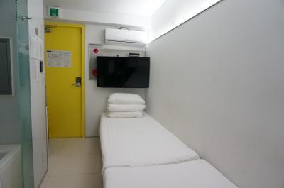 ソウル市内にある綺麗で安いゲストハウス「ルックホーム」と「デリマンジュウ」