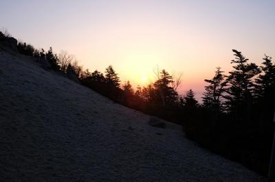 鳳凰三山 今季初のアルプスは夜叉神よりテント泊