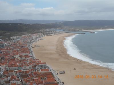 2018年ポルトガル一人旅④ナザレ