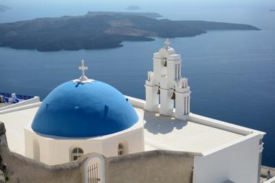 念願のギリシャ!ハネムーン6泊9日 ー 4日目・クレタ島 イラクリオン サントリーニ島 フィラ ー