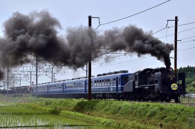 ありがとうC56-160号機、本線運転引退する蒸気機関車「SL北びわこ号」に乗って