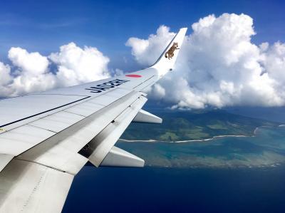 羽田空港→石垣空港を1日で2往復しました(汗)